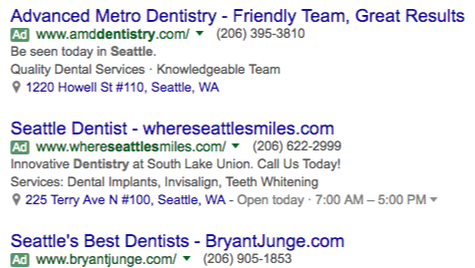 Dental Ads